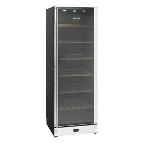 smeg SCV115A Wine cellar, 60 cm, stainless steel and glass