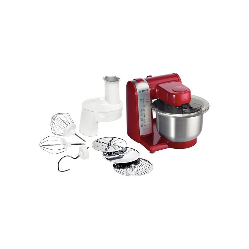 mum48r1 macchina da cucina 600w rossa colore rosso
