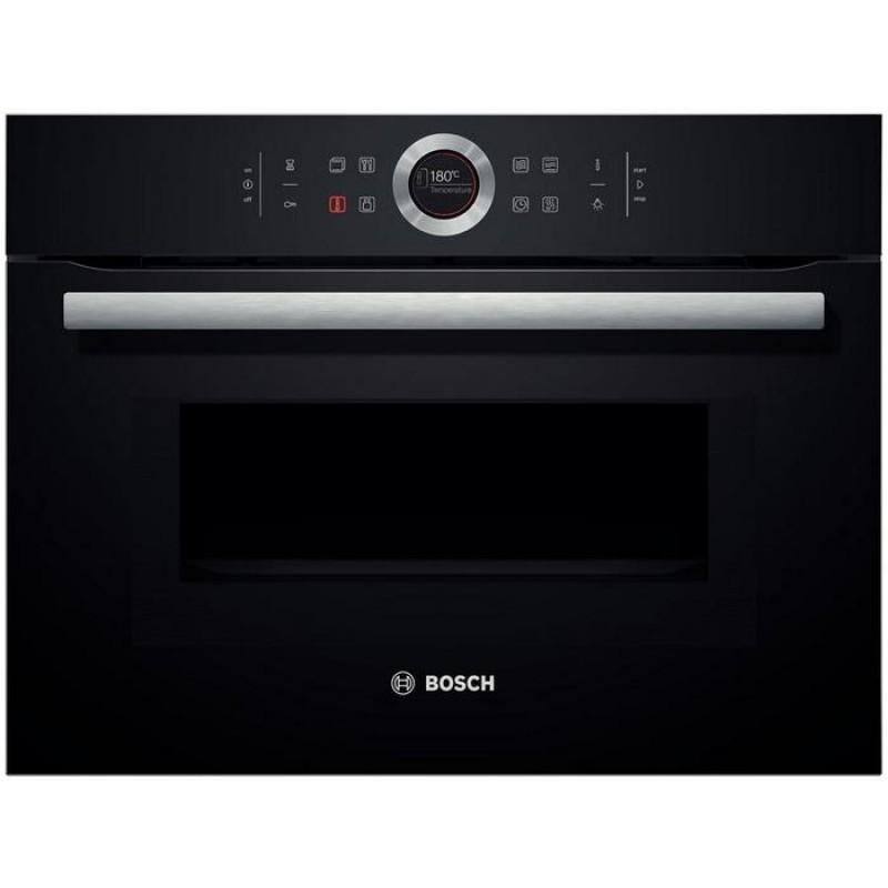 Bosch cmg633bb1 nero forno compatto con microonde - Forno con microonde ...
