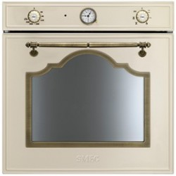smeg SF700PO Convection oven, 60 cm, cream Aesthetics Cortina