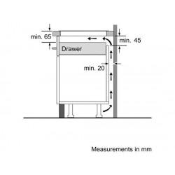 bosch Piano cottura ad induzione 90 cm Sensor Plus Induction, PIZ975N17E