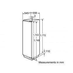 bosch Frigorifero monoporta VitaFresh Porta con cerniera piatta ,KIF42P60