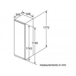 bosch Frigorifero monoporta Porta con cerniera piatta ,KIL82AF30