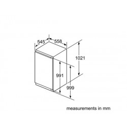 bosch Frigorifero monoporta Porta con cerniera piatta ,KIR31AF30