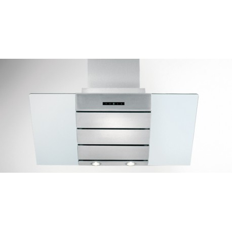 k4310004 Tecnowind Linea Design H12 Cristallo Bianco - Inox 60 cm