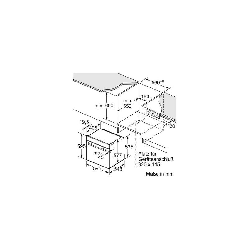 Siemens hn678g4s1 forno incasso combinato microonde con - Forno a microonde ad incasso ...