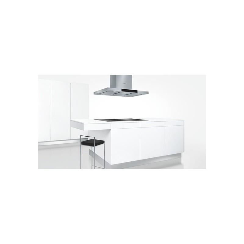 Bosch dib091k50 inox cappa aspirante per montaggio a isola 90 cm - Montaggio cappa cucina ...