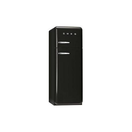 smeg FAB30RNE1 Double door Refrigerator-Freezer, Black,