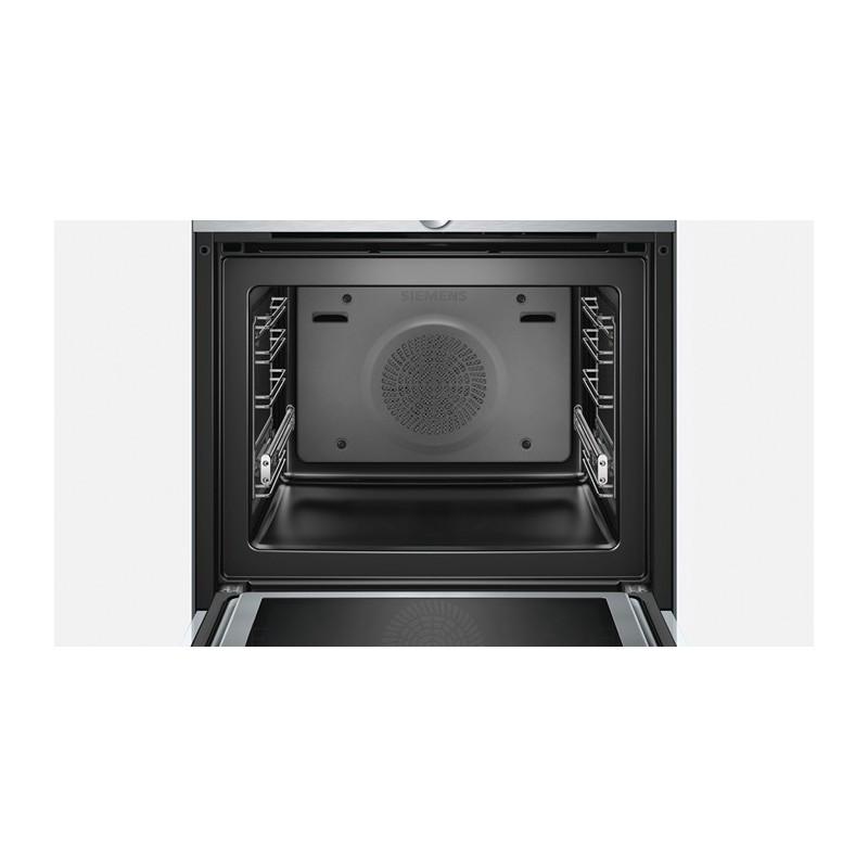 Siemens hm636gnw1 forno multifunzione termoventilato for Forno microonde combinato incasso