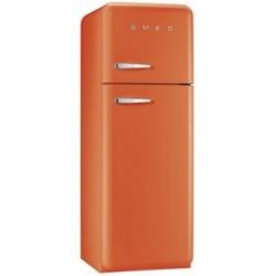 smeg FAB30RO1 Double door Refrigerator-Freezer, Orange,