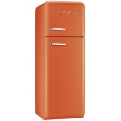 smeg FAB30RO1 Frigorifero due porte anni '50, arancione,