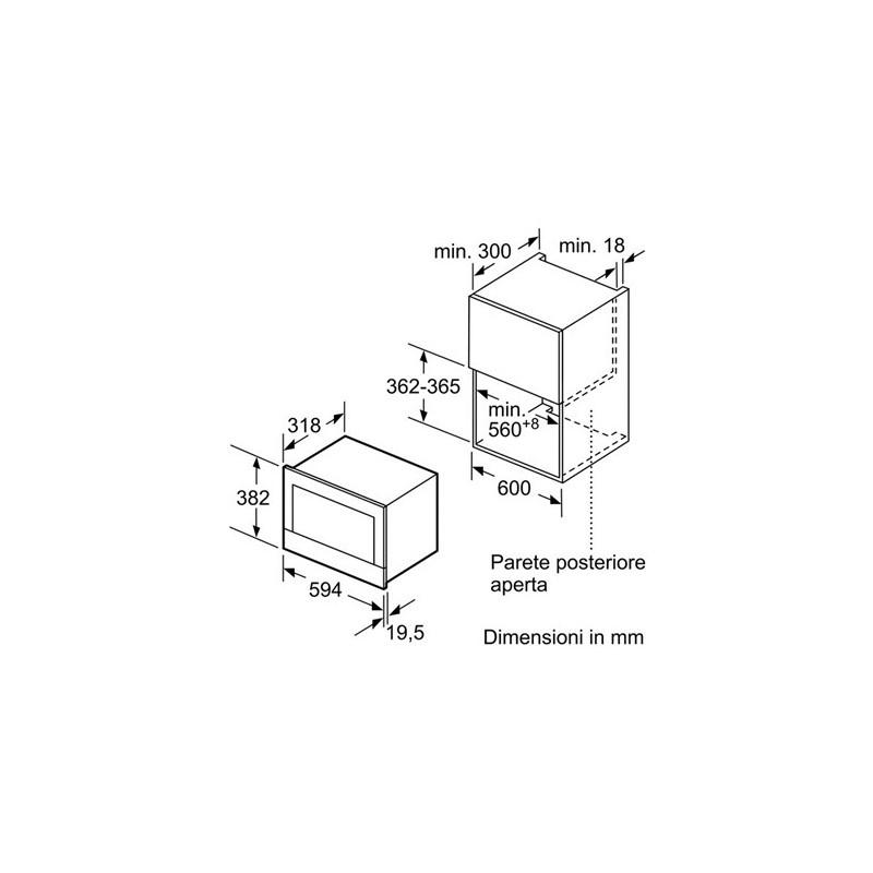 Siemens be634lgs1 forno microonde da incasso con grill for Lavastoviglie siemens istruzioni