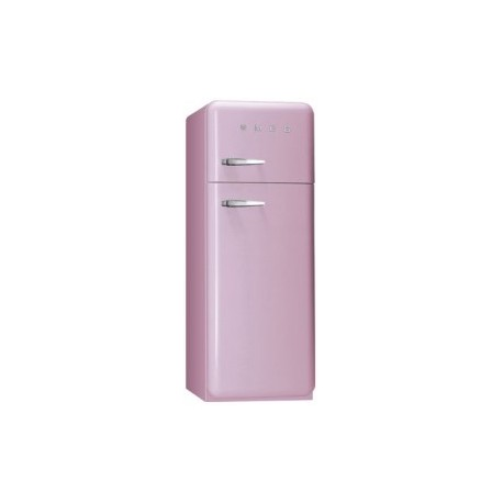 smeg FAB30RRO1 Double door Refrigerator-Freezer, Pink,