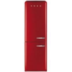 smeg FAB32LR1 Frigorifero combinato anni '50, rosso,
