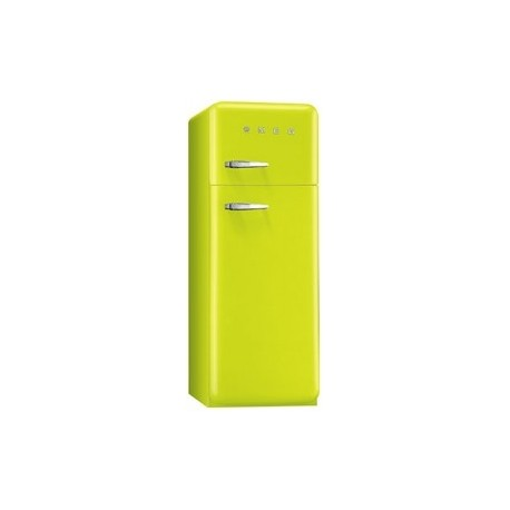 smeg FAB30RLI3 Double door Refrigerator-Freezer, Lime green
