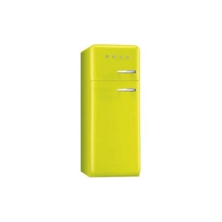 Smeg fab30lve1 frigorifero due porte anni 39 50 verde lime for Green arreda