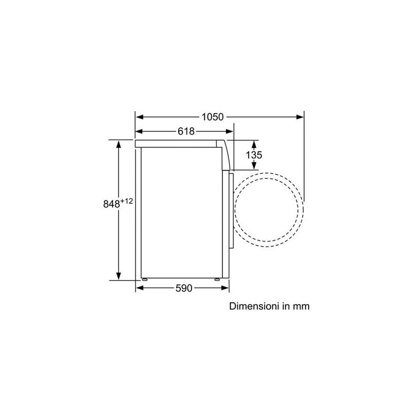 ... Bosch WAK20168IT Lavatrice Carica Frontale Standard