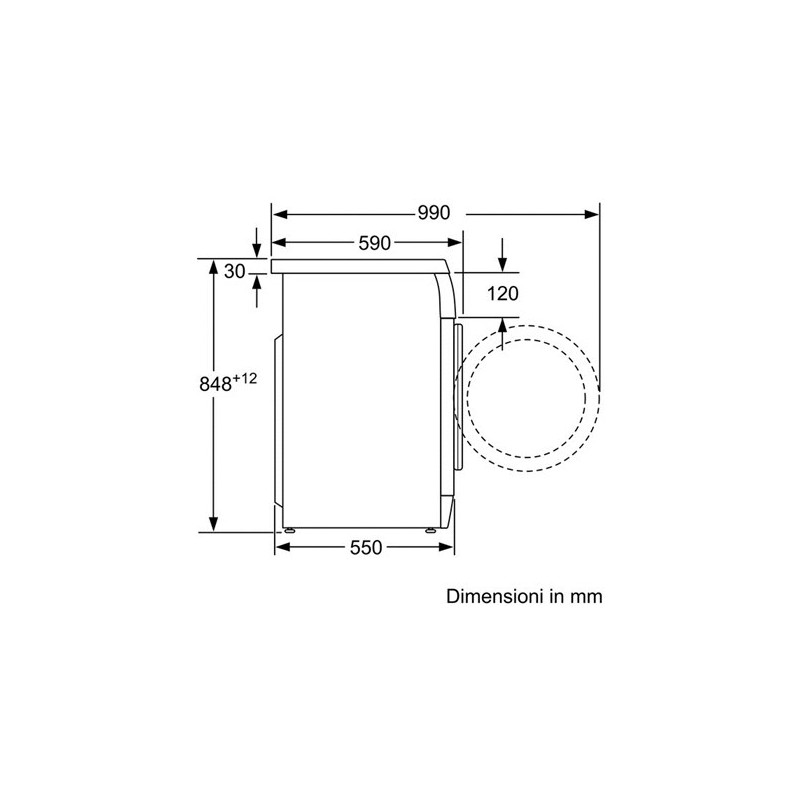 ... Bosch WAE20260II Lavatrice Carica Frontale Standard