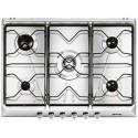 smeg Piano di cottura, 70 cm, inox SRV576-5