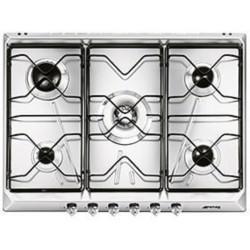 smeg SRV576AL Piano di cottura, 70 cm, alluminio