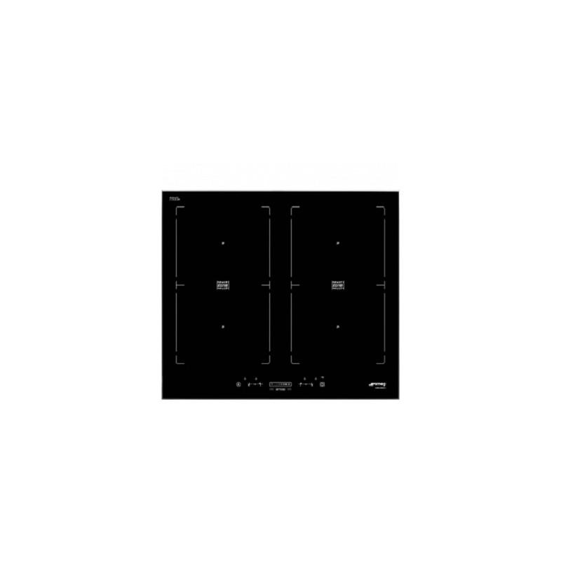Smeg sim562fx piano di cottura a induzione nero 90 cm for Cottura a induzione