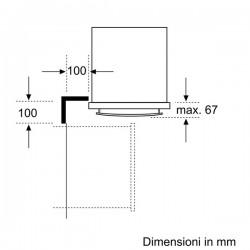 neff Forno Multifunzione acciaio inox  8 funzioni circo therm funzione pizza ed easy clean B15M42N3EU