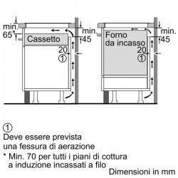 neff T43B30N2 Piano a induzione, 60 cm