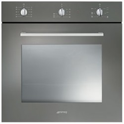 smeg SF465TT Convection oven, 60 cm, titanium