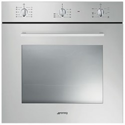 smeg SF465AL Convection oven, 60 cm, aluminum