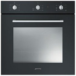 smeg SF465N Convection oven, 60 cm, black