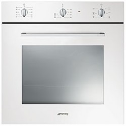 smeg SF465B Convection oven, 60 cm, white