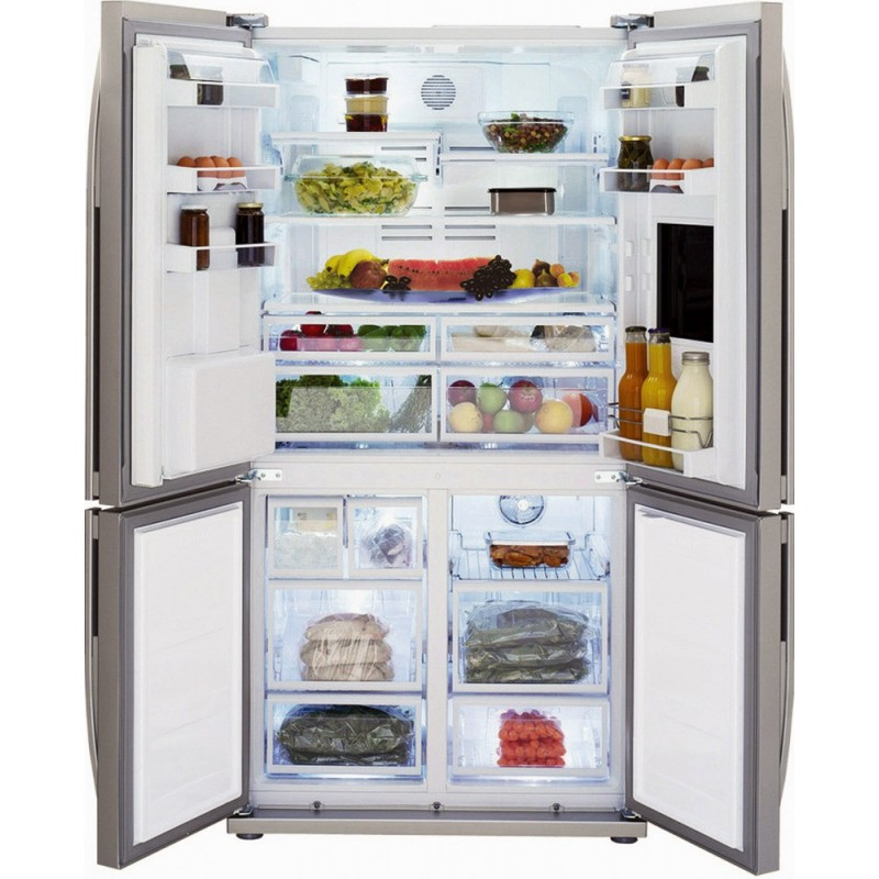 Beko refrigerator Side by Side GNE134631X - Dueg Store