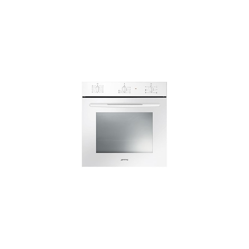 Smeg forno ventilato 60 cm bianco sf561b - Forno microonde ventilato ...