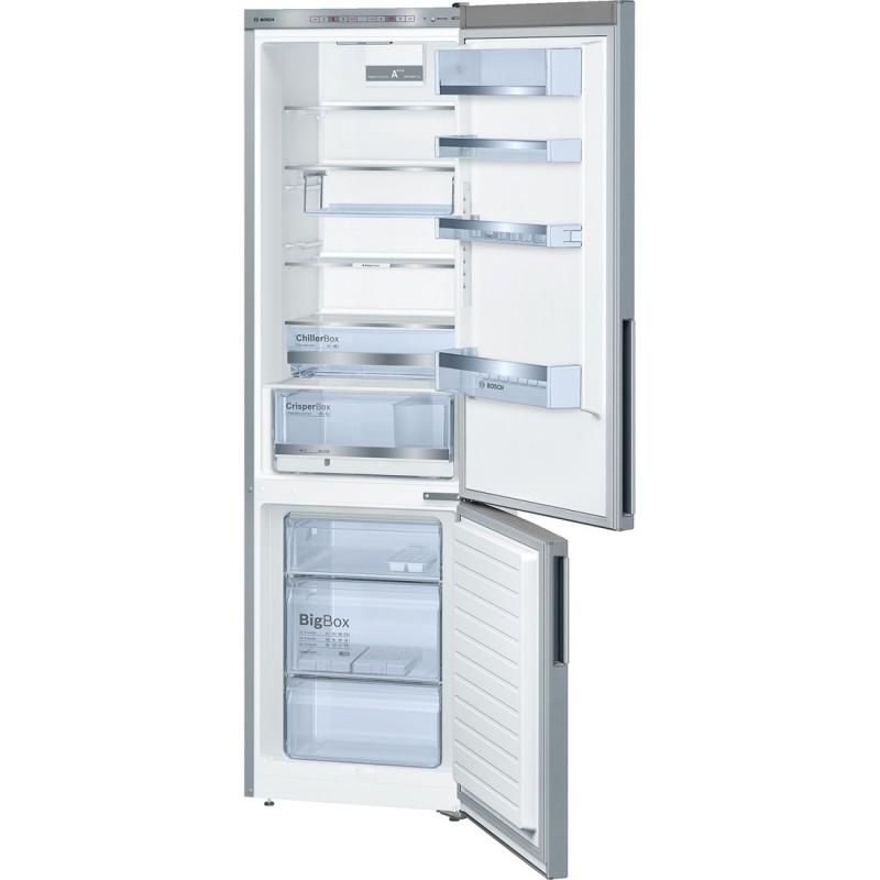 bosch kge39bl41 inox look frigo congelatore da libero. Black Bedroom Furniture Sets. Home Design Ideas