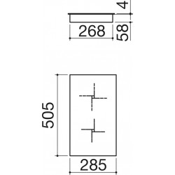 1pi30idn Barazza Piano Cottura ad Induzione