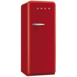 smeg CVB20RR1 50's Style Freezer, Red,
