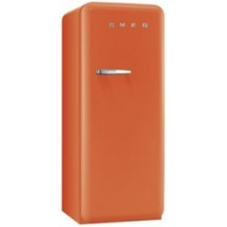 smeg CVB20RO 50's Style Freezer, Orange,