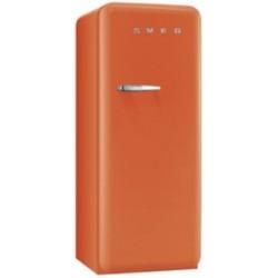 smeg CVB20RO Congelatore monoporta anni '50, 60 cm, arancione