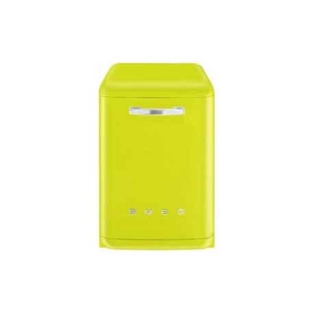 Smeg lvfabli dishwasher 50s lime green for Green arreda