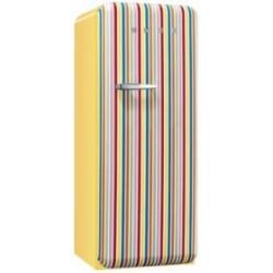 smeg FAB28RCS1 Frigorifero monoporta anni '50, colour stripe,