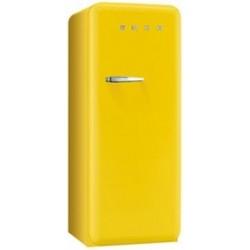 smeg FAB28RYW3  50's Retro Style Refrigerator-Freezer, Yellow,