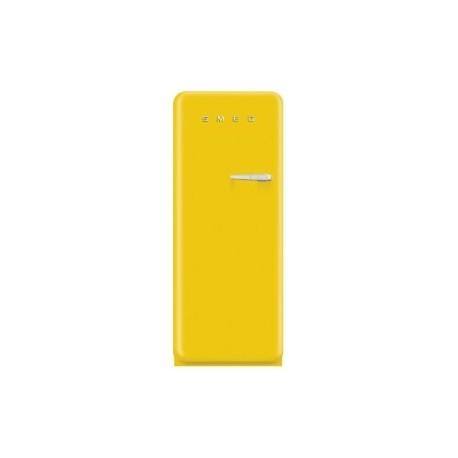 smeg FAB28LYW3 50's Retro Style Refrigerator-Freezer, Yellow