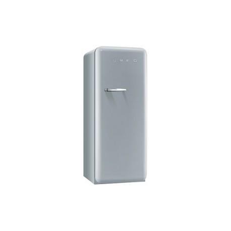 smeg FAB28RSV3 50's Retro Style Refrigerator-Freezer, Silver,