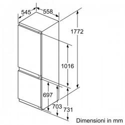 neff ki6863d40 combinato integrabile cerniere piatte