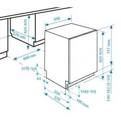 Beko Lavastoviglie DIN5835 da 60 cm