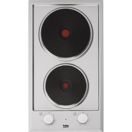 Beko Piano Cottura Elettrico HDCE 32201 X da 30 cm