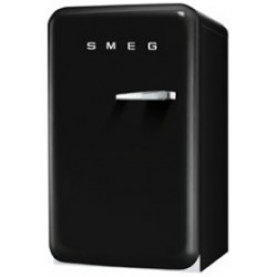 smeg FAB10LNE 50's Retro Style Refrigerator with Ice Compartment, Black,