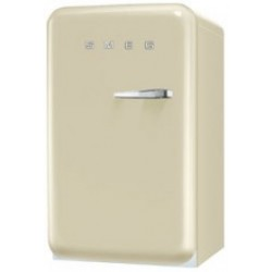 smeg FAB10LP 50's Retro Style Refrigerator with Ice Compartment, Cream,