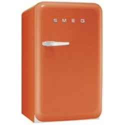 smeg FAB10RO 50's Retro Style Refrigerator with Ice Compartment, Orange,
