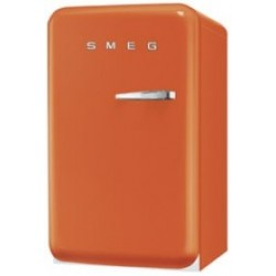 smeg FAB10LO 50's Retro Style Refrigerator with Ice Compartment, Orange